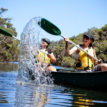 Canoeing Margaret River